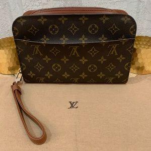 Louis Vuitton Orsay Clutch Wristlet Pochette